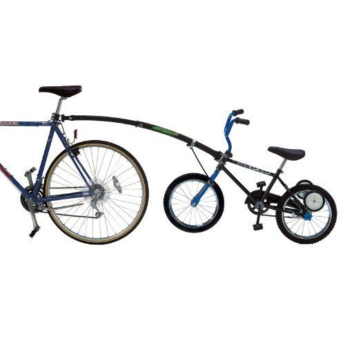 Trail-Gator Childrens Red Trailer Tow Bar Bicycle Outdoor Cycling Bikes Kids