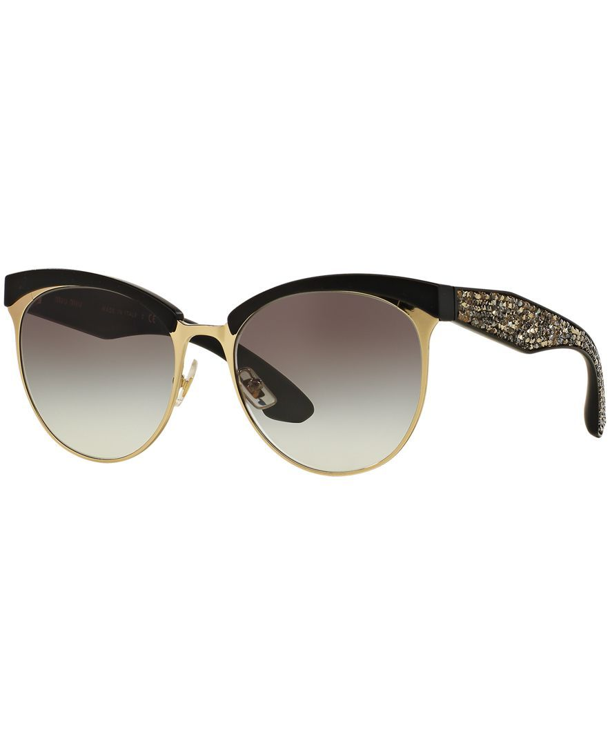Miu Miu Sunglasses, Miu Miu Mu 54QS 56 Stardust | Fashion | Pinterest