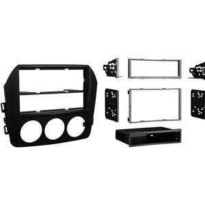 Metra 99-7338S Kia Forte 2010-Up Installation Dash Kit for Double DIN//ISO Radios Silver
