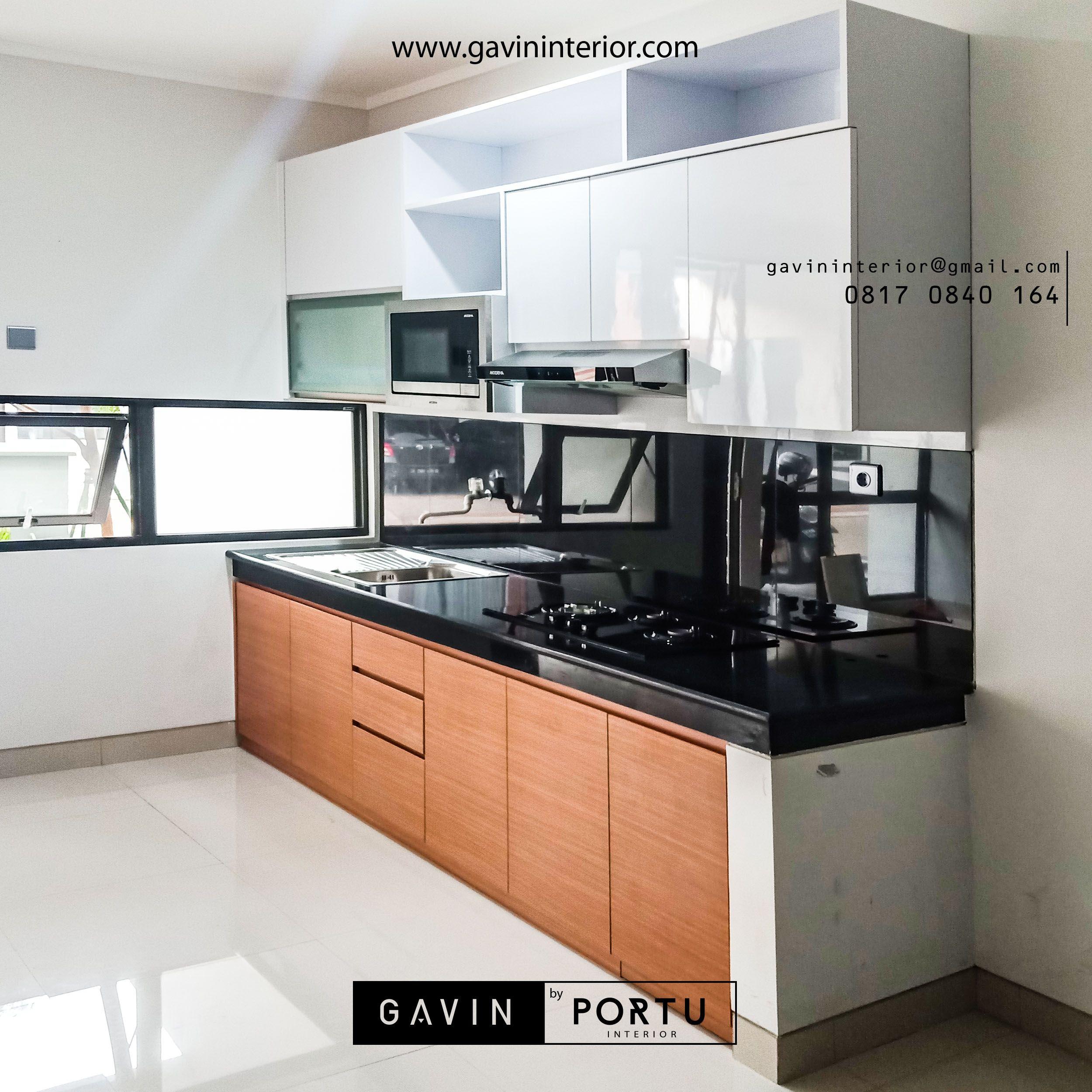 Pada review kitchen set minimalis modern untuk klien di kebayoran harmoni jakarta id3488p
