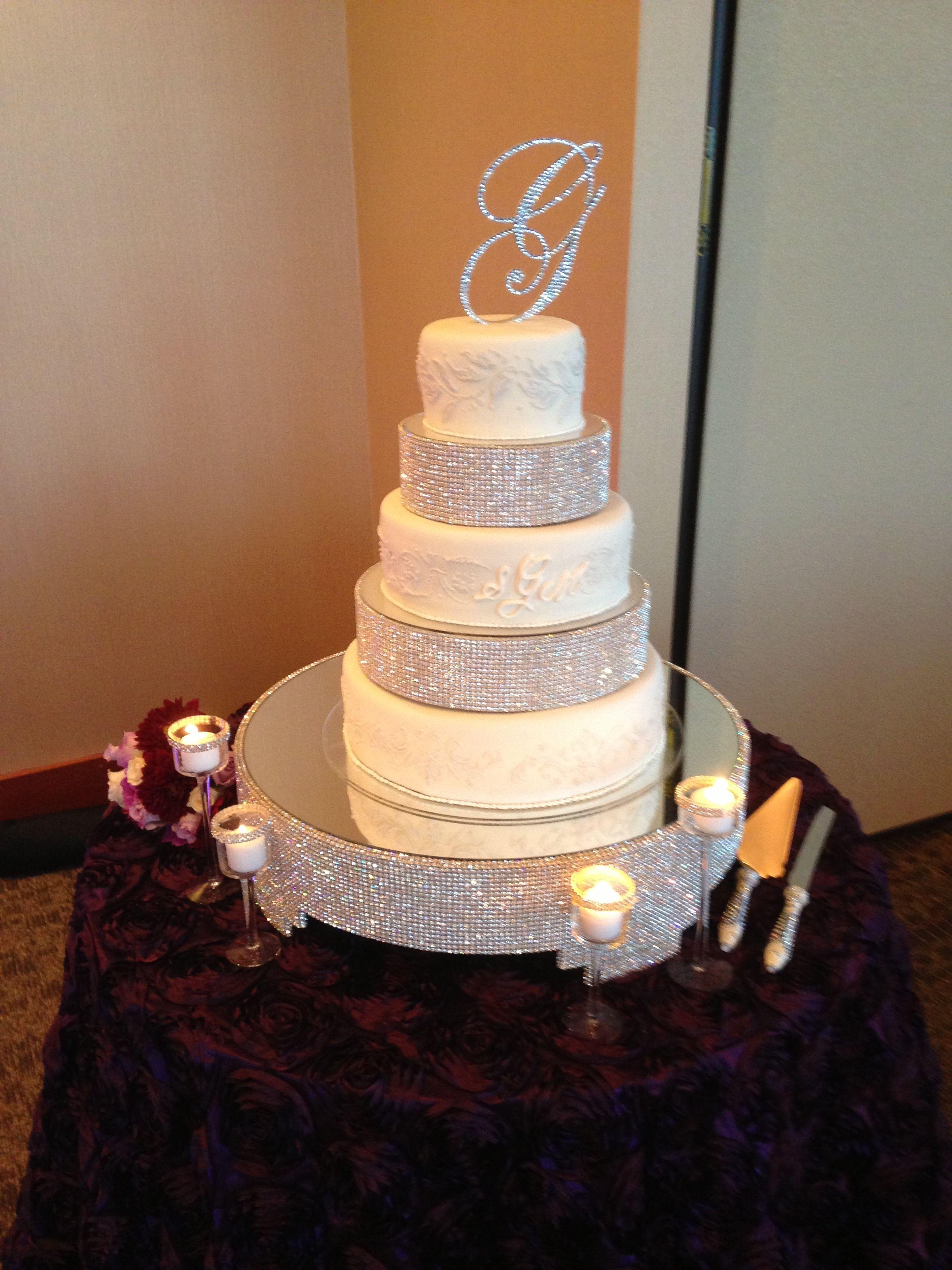 Boulder Ridge Golf Club Pavilion Event Center San Jose CA Wedding Cake