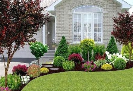 Gorgeous Front Yard Garden Landscaping Ideas 62