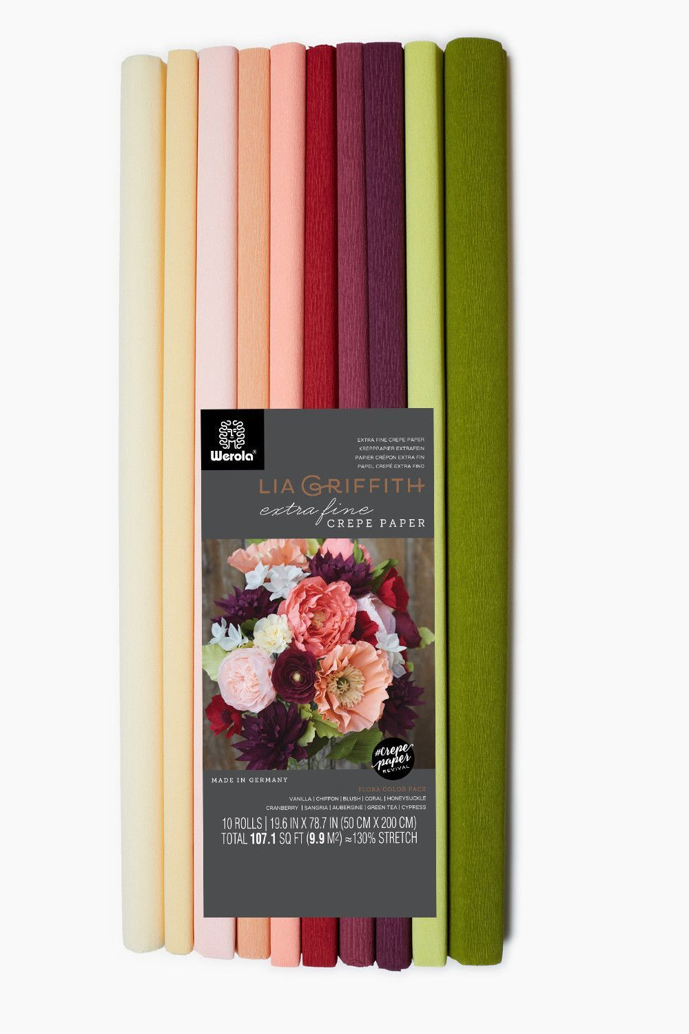Double Sided Crepe Paper Anemone Flower Pinterest Crepe Paper