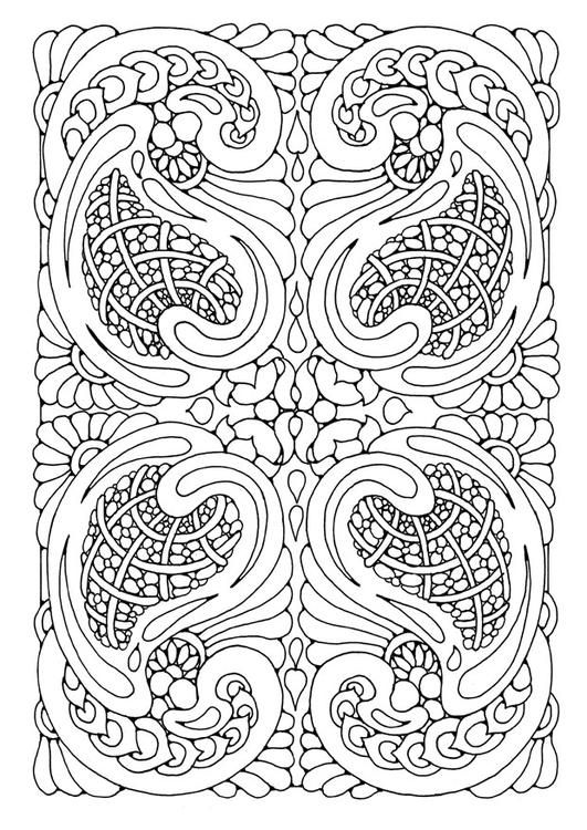 Coloring page mandala7a - coloring picture mandala7a. Free coloring sheets to print and download. Images for schools and education - teaching materials. Img 21903.
