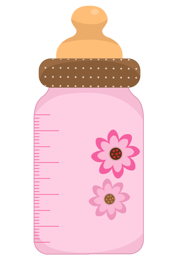 Pin By Pic Pic Festas On Baby Girl Baby Shower Clipart Baby Clip Art Baby Bottles