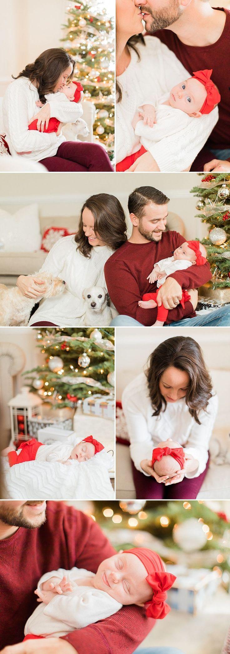 Houston Christmas Newborn Photos   The Cotton Collective