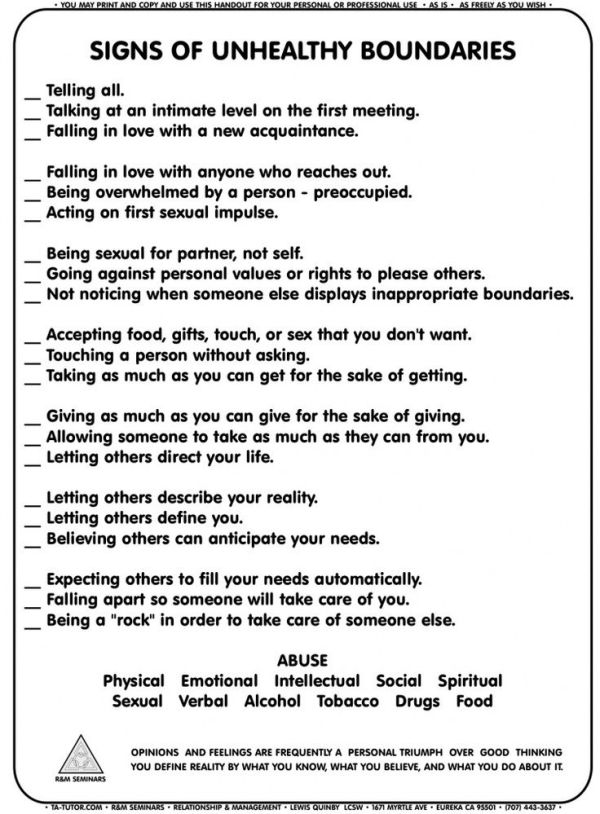 Setting Boundaries Worksheet Google Search Therapeutic