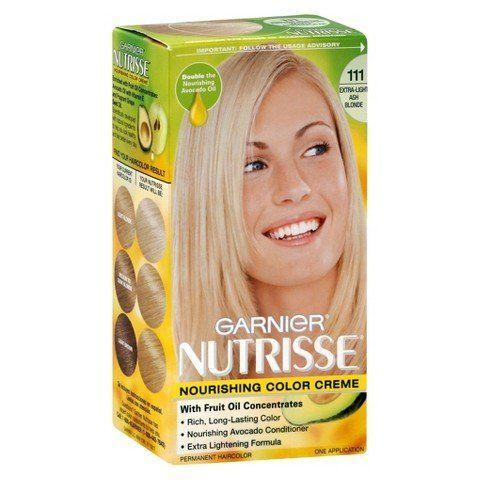 Garnier Nutrisse Hair Color Extra Light Ash Blonde 111 You
