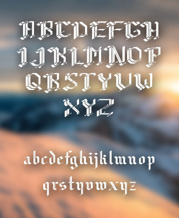 CiberGotica Font -- The CiberGótica performs a writing gothic retelling, contrasting conceptual-historical context of the Gothic to the contemporary era machinic-digital, illustrated by printed circuit boards - the strongest part of one of the world liquid foundations