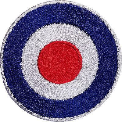 Iron or Sew On Embroidered Vespa Check//Ital Patch