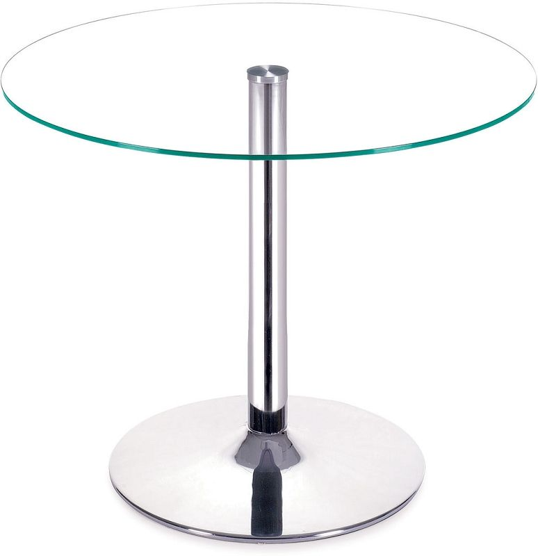 Perry Dining Table Glass Round Dining Table Round Glass Table