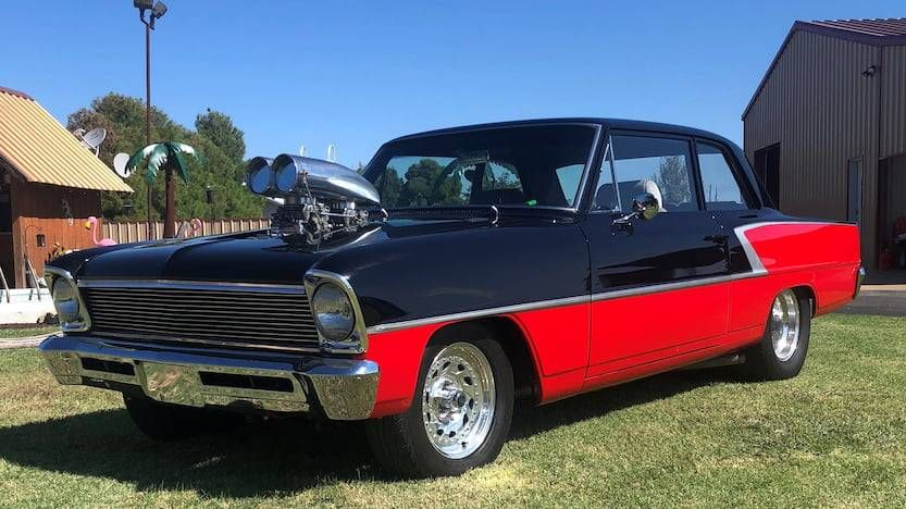 1966 Chevrolet Nova At Auction 2299678 Hemmings Motor News