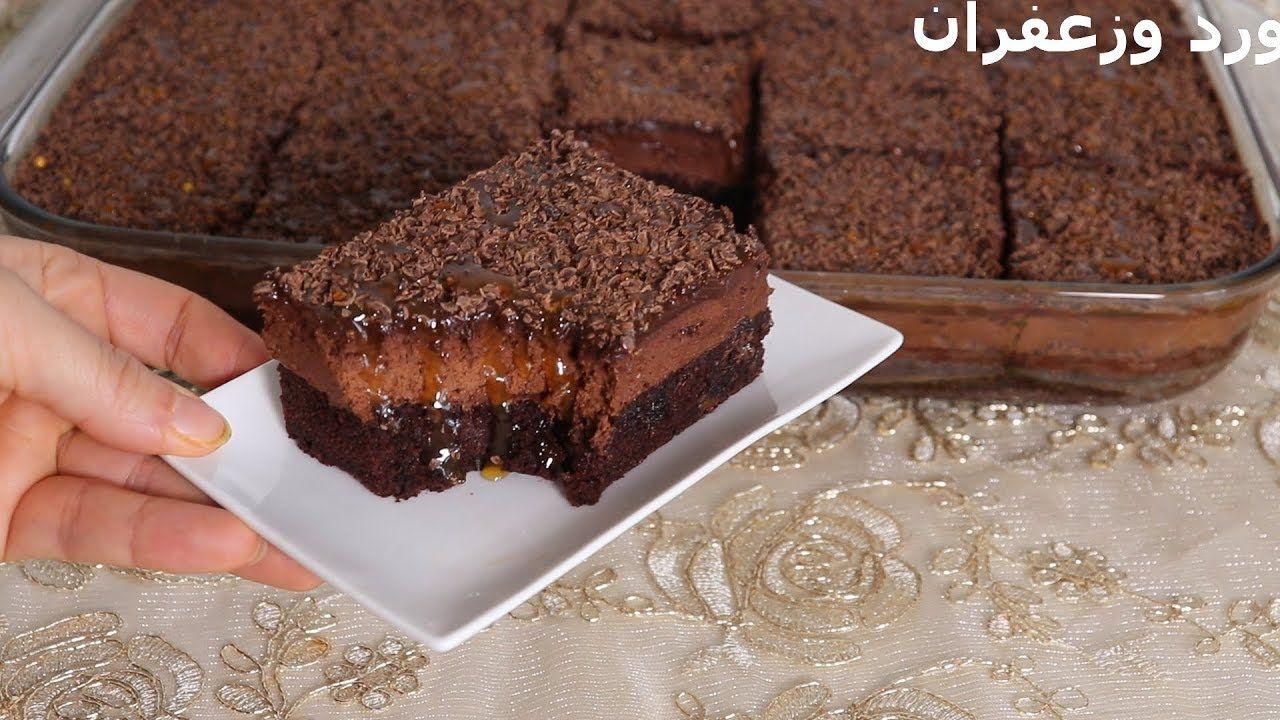 كيك بارد بالشكلاط والقهوة موقع يالالة Yalalla Com عالم المرأة بعيون مغربية Food Videos Desserts Cake Desserts Chocolate Ganache Cake