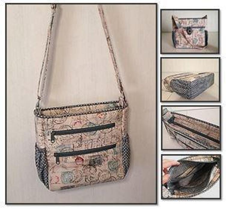 Johanna Crossbody Bag, Shoulder Bag | Taschen anleitungen ...