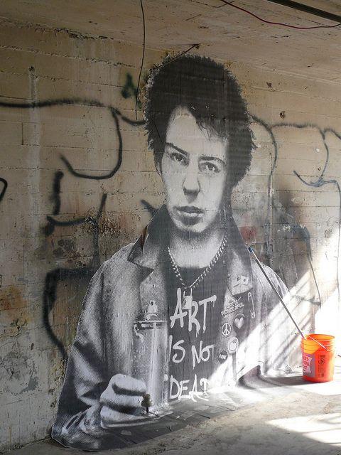 art is not dead - graffiti