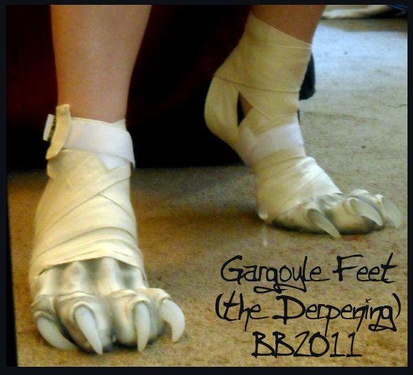 Gargoyle Feet Again By Artsquish.deviantart.com On