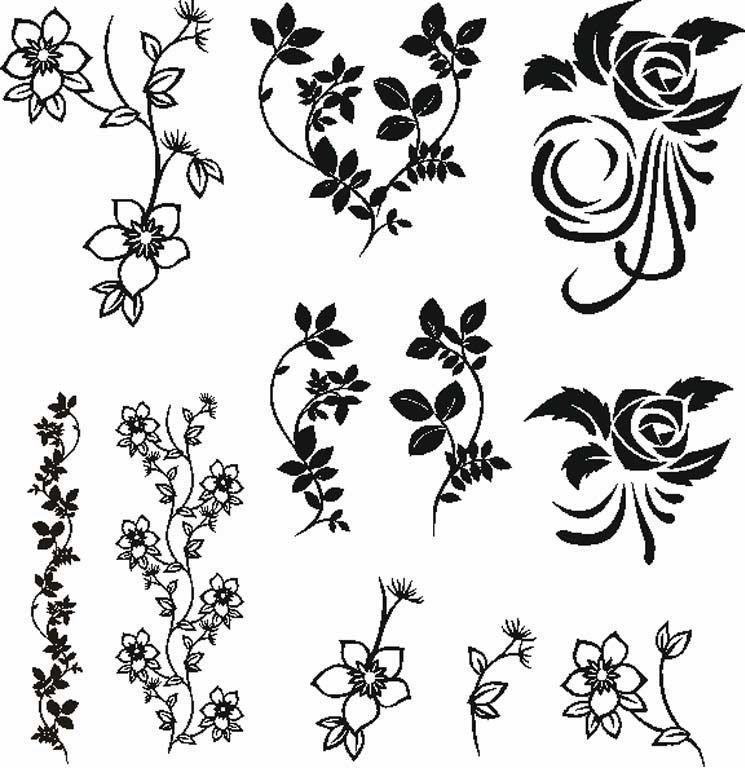 Показаны картинки по запросу Красивые Узоры Черно-белые.