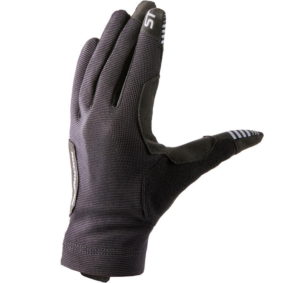Mountain Bike Gloves St 100 Decathlon In 2020 Mountain Bike Gloves Bike Gloves Mountain Biking