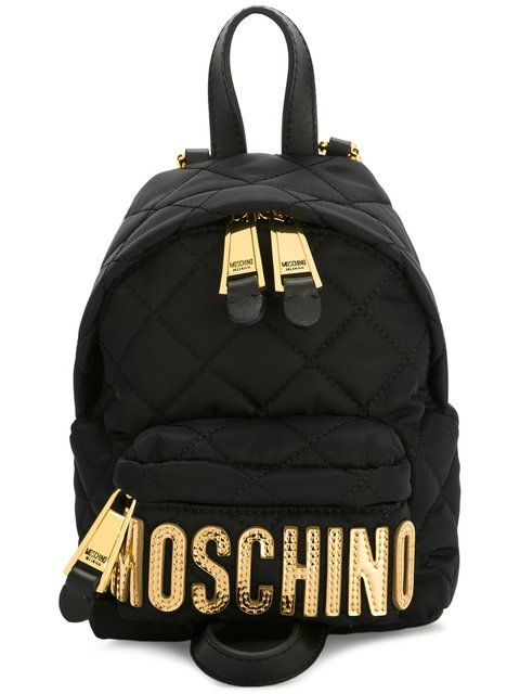 ed5baad854f MOSCHINO Mini Quilted Backpack. #moschino #bags #leather #backpacks ...