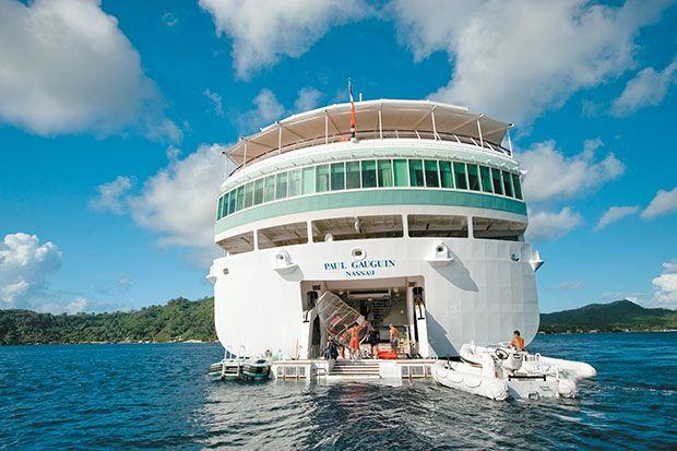 Paul Gauguin Cruises lo lleva a descubrir Tahiti y la Polinesia Francesa, en sus cruceros de lujo.