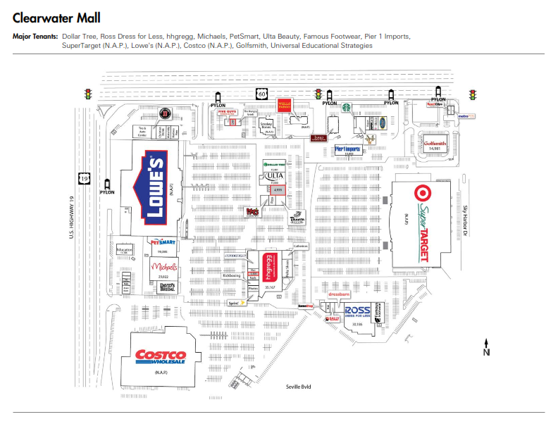 Clearwater Mall Shopping Guide Clearwater Mall - Shopping ...