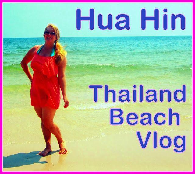 Hua Hin Beach-Thailand Beach VLOG VIDEO!