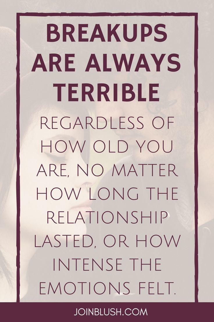 How long should a relationship break last
