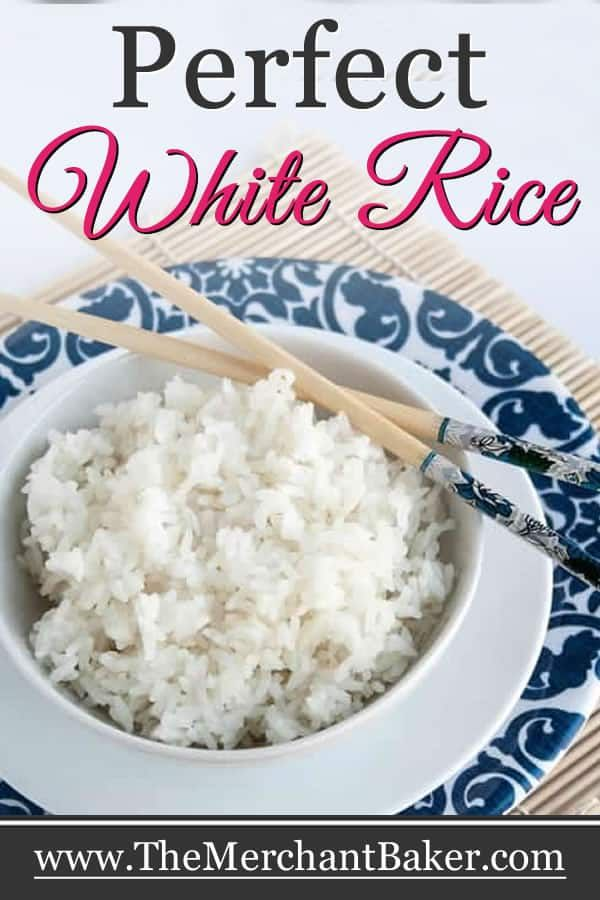 Perfect White Rice. How to make perfect fluffy white rice with no measuring cups! #recipe #howto #perfect #whiterice #rice #whitericerecipes