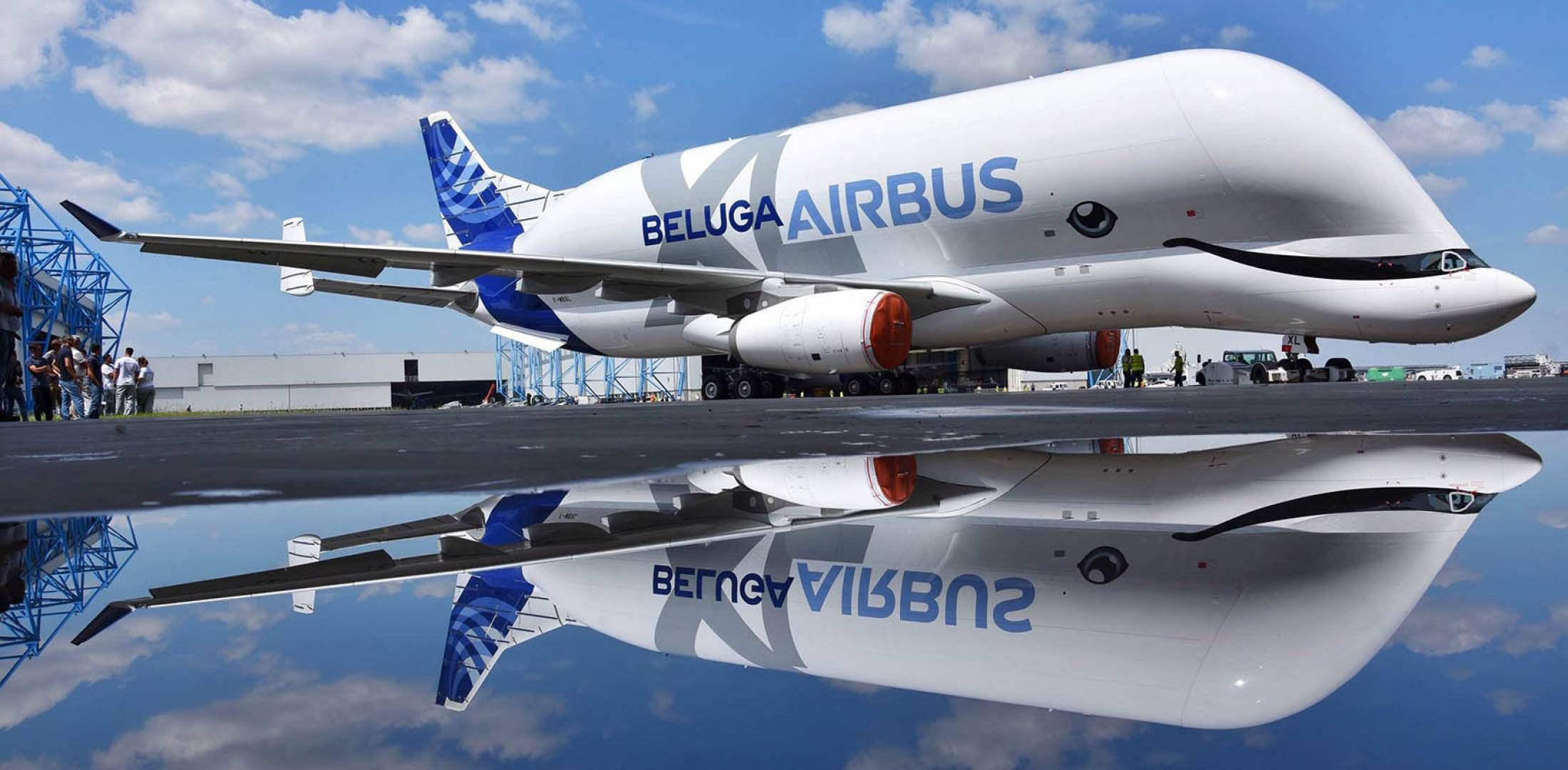 Airbus Beluga Xl Flew For The First Time In July Of 2018 Airbus