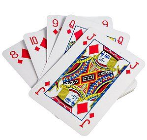 Jumbo extra large giant cartes à jouer bridge poker whist jeu Gaming Jeux