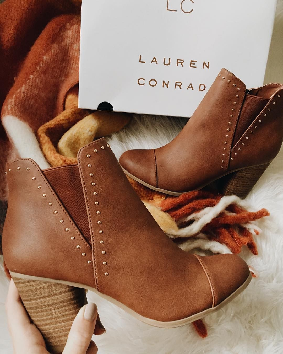 LC Lauren Conrad Courtship Ankle Boots from Kohl s e6d869ebb54