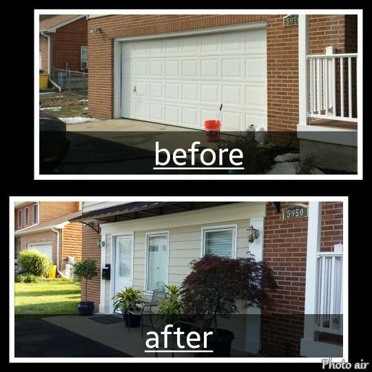 Build A Wall In Place Of The Garage Door And Just Leave The Garage Door Up?