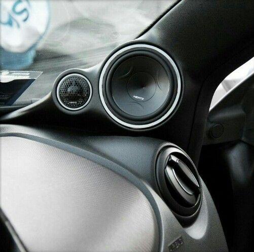 Pillar speakers car audio shit hertz car audio car - Ways to customize your car interior ...