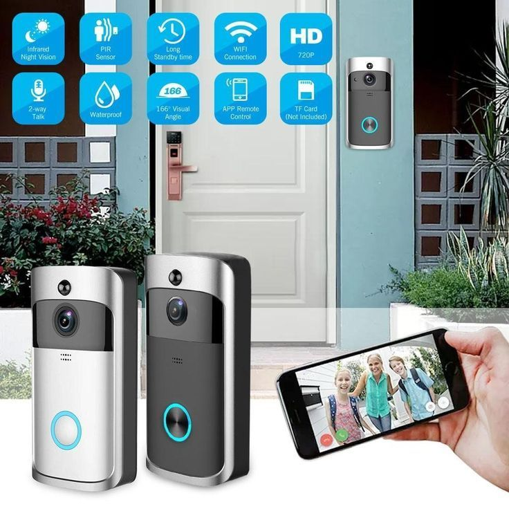 Smart WiFi Wireless Video Doorbell Intercom System For Home Security
