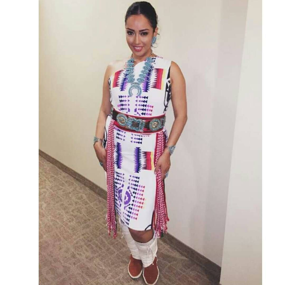 Traditional Navajo Rug Dress