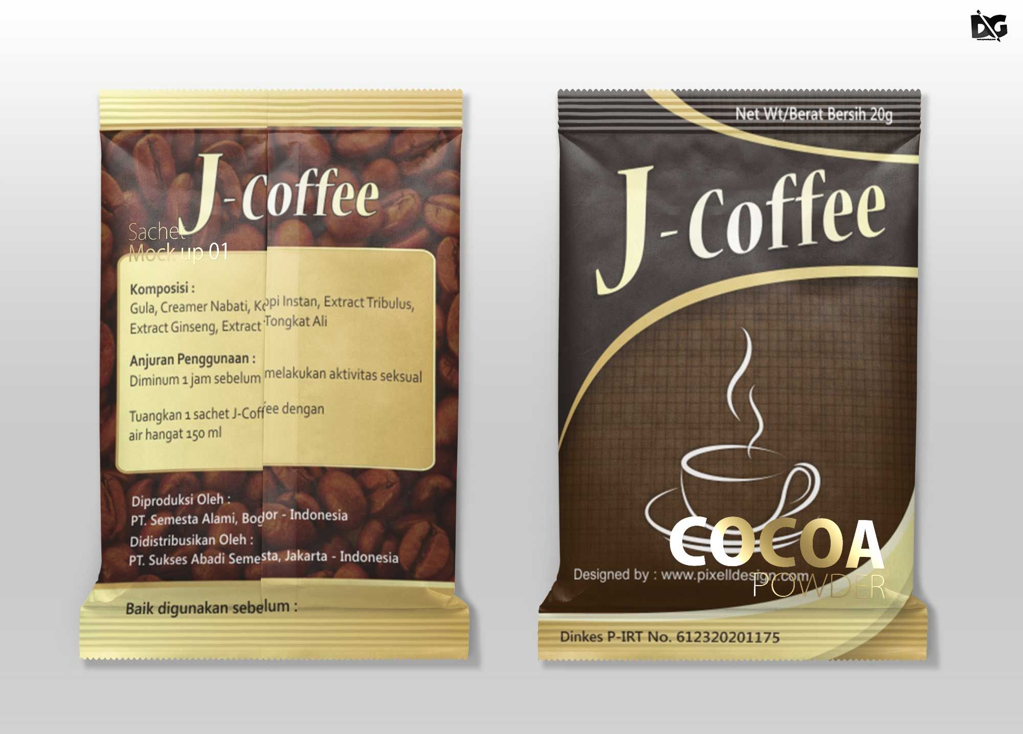 Download Free Download Clothing Cocoa Pouch Packaging Mockup Pouch Packaging Packaging Mockup Mockup Free Psd