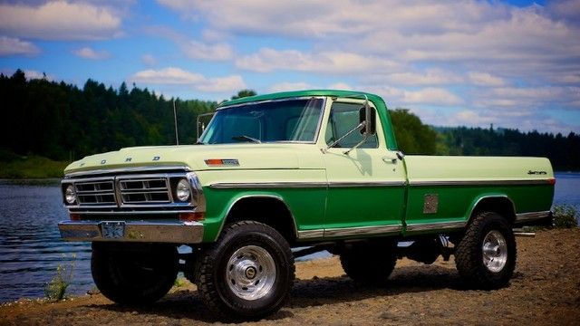 1971 Ford F250 Sport Custom 4x4 With Images Classic Ford