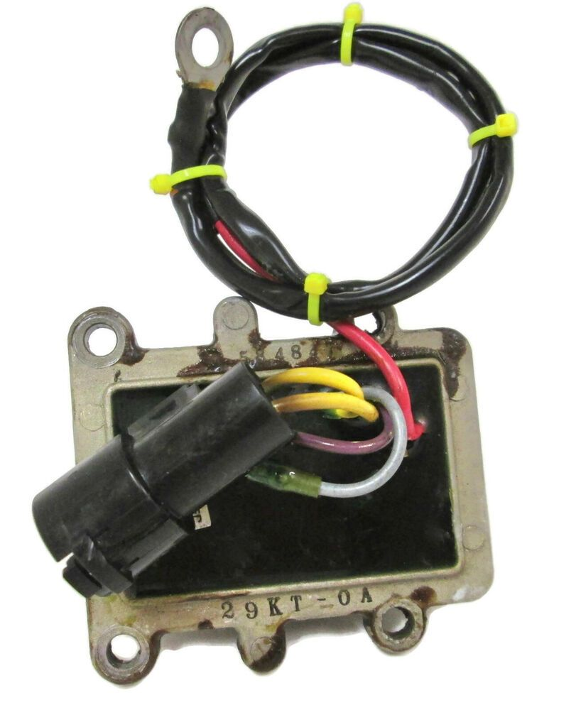 Sold Johnson Outboard Rectifier And Regulator 0584847 Outboard Boat Hardware Starter Motor