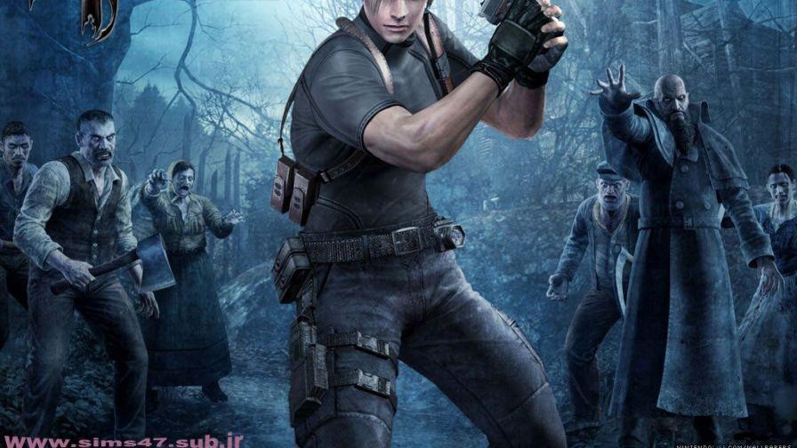 Leon Hd Wallpaper Resident Evil Game Resident Evil Resident