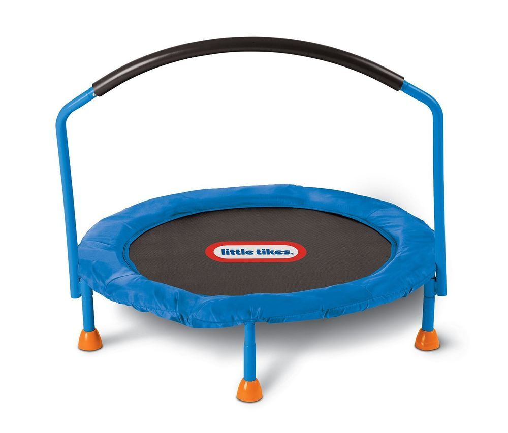 Little Tikes Mini Trampoline New 3\' Indoor Kids Toddler Jumping ...