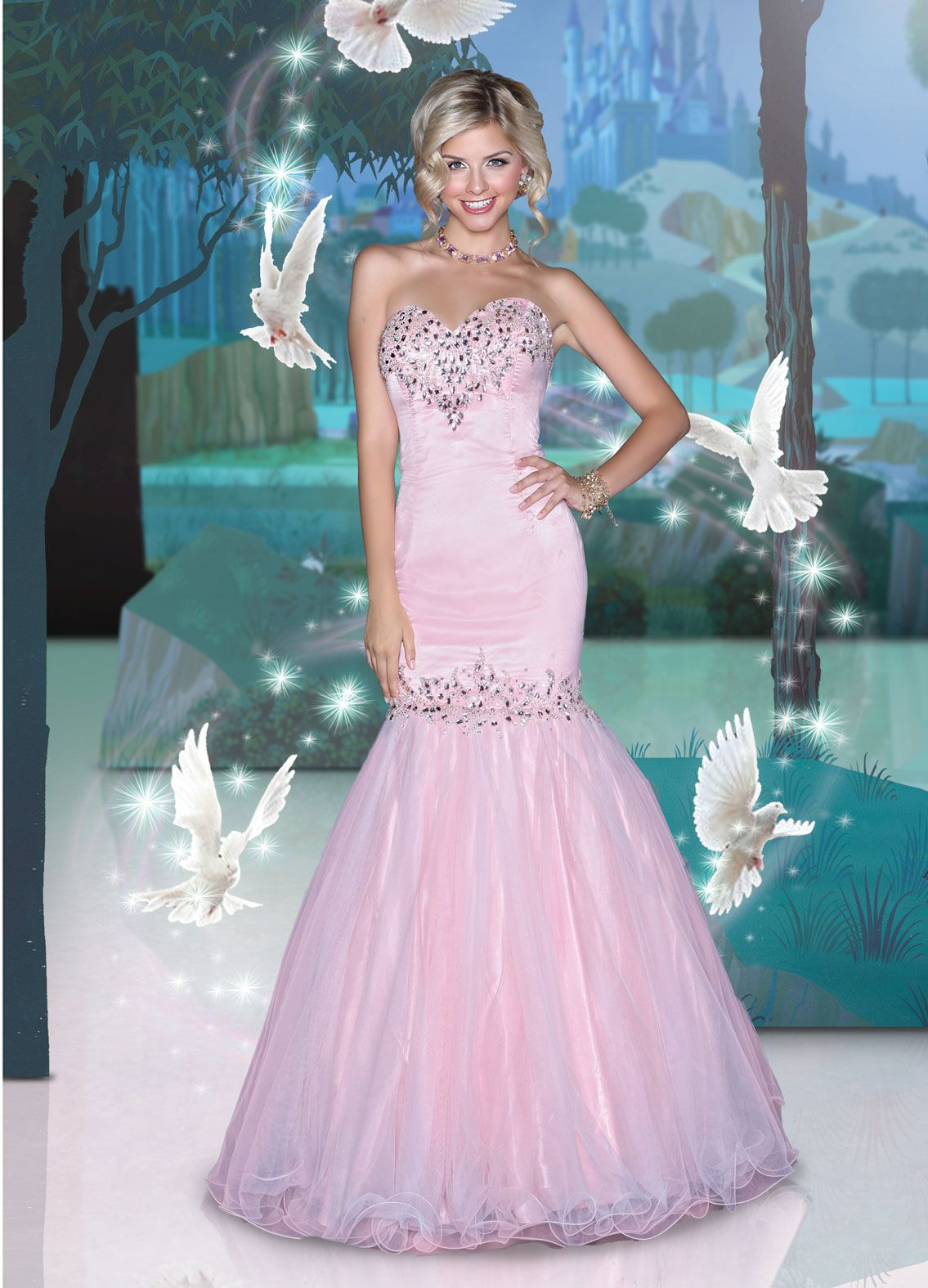 Disney Forever Enchanted Prom Dresses - comes in mint | Prom / semi ...