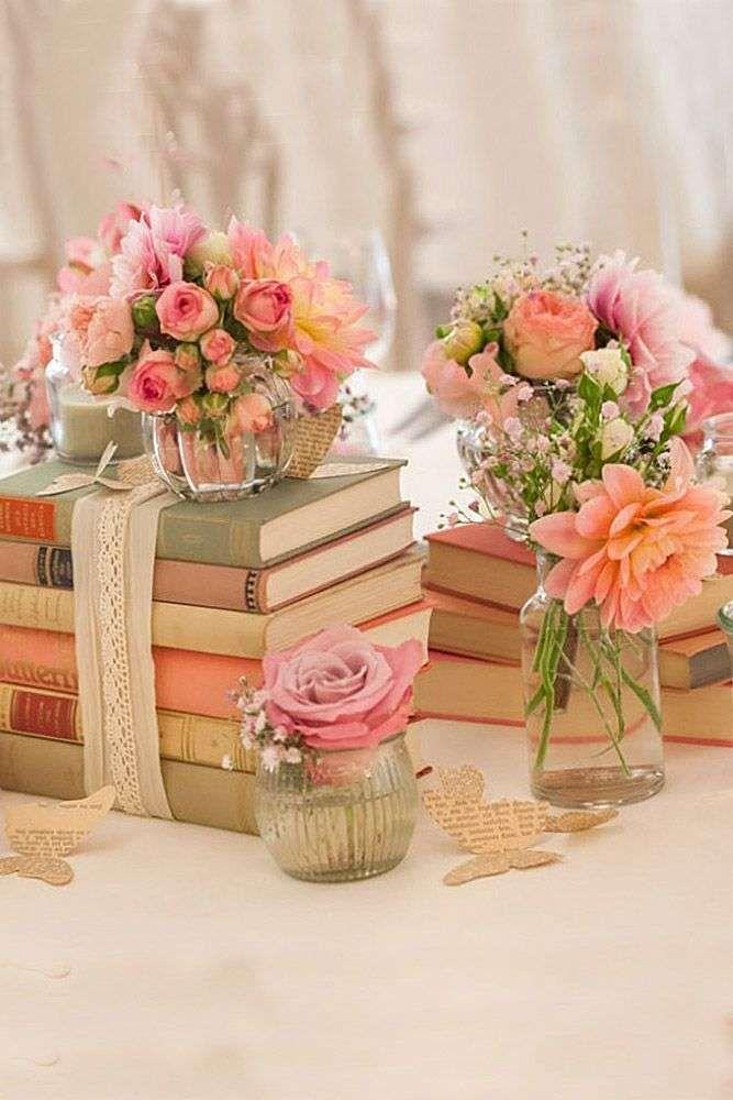 Centrotavola Matrimonio Country Chic : Decorazioni per il matrimonio le più belle centrotavola