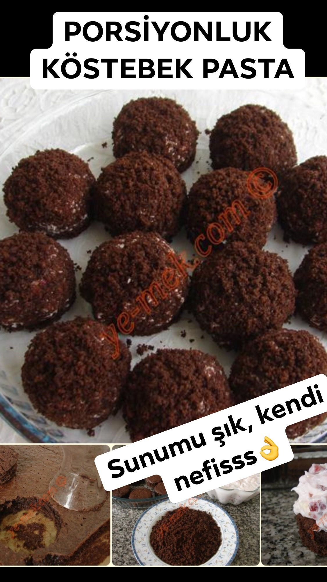 Photo of Mini Mole Cakes Recipe, How To? (Portion cake recipe)