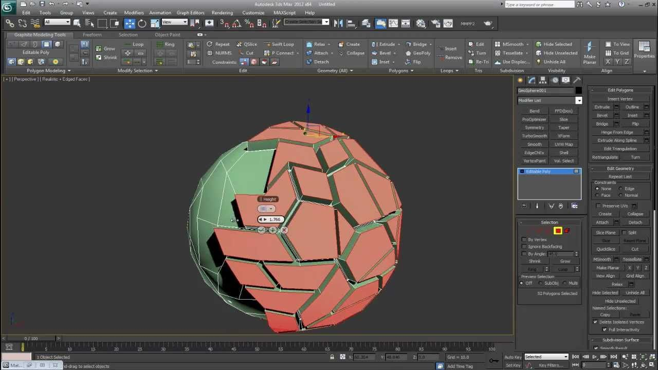 3Ds Max. Generate Topology. Random Pattern Generator: Reminder Video. Wa...