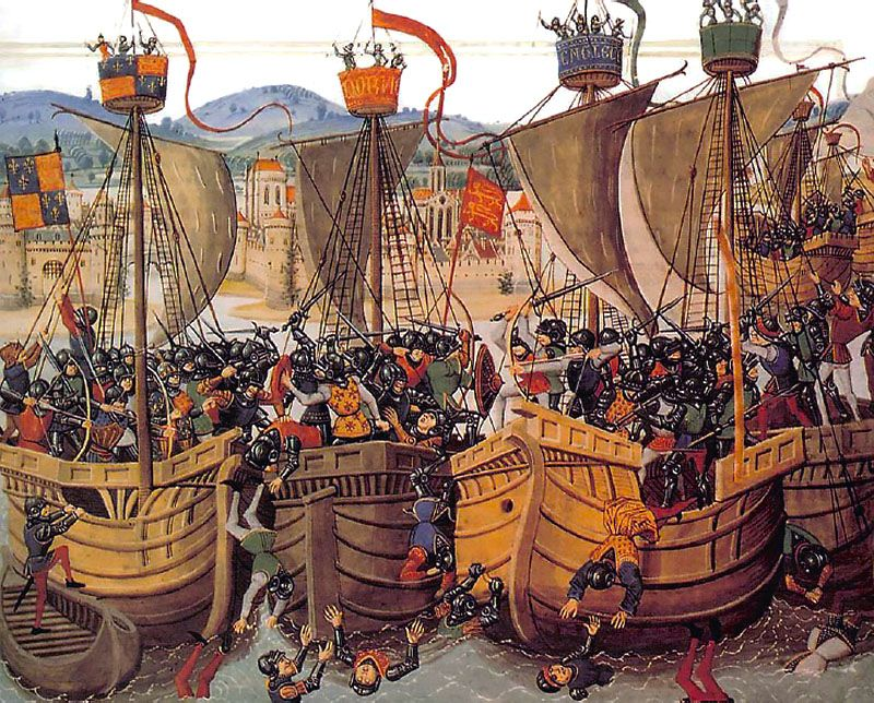 the hundred years war was fought by england and