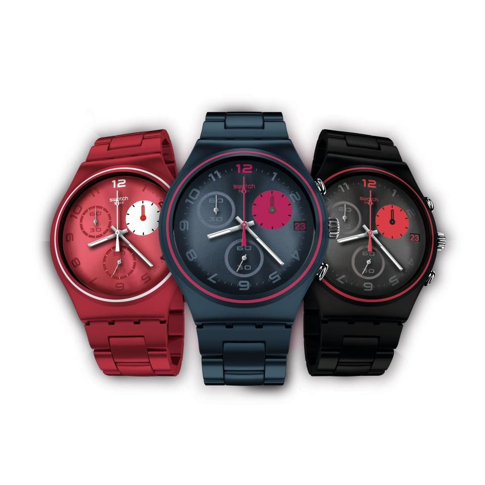 Swatch Irony Chrono Collection