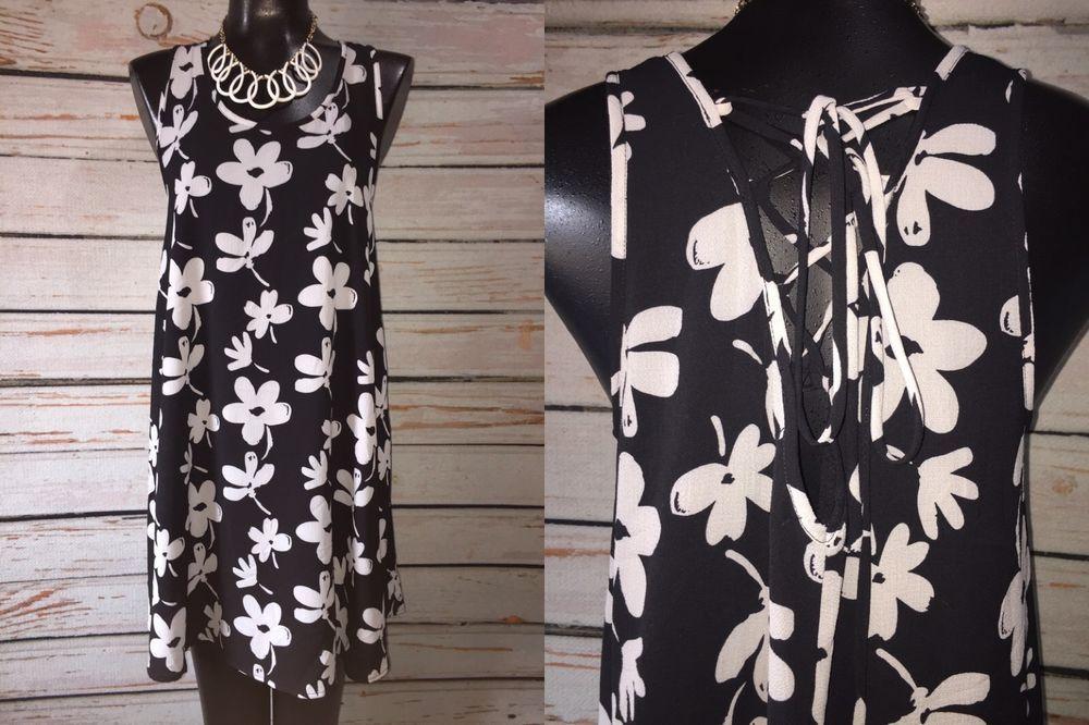 Black swing dress ebay