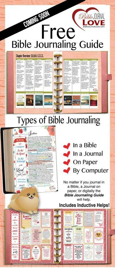 Free Bible Journaling Guide   Bible Journaling   Bible, Free