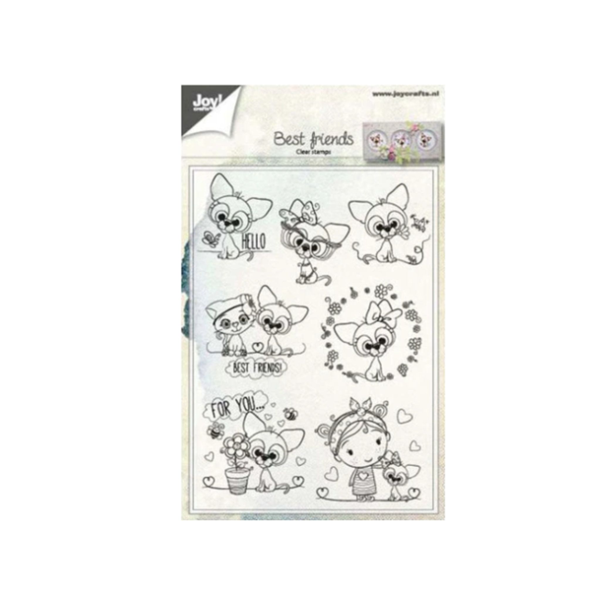 Cat Cling Clear Stamp Set Special Day Words Birthday Balloons Craft Consortium stamping,embossing,card making,Scrapbooking