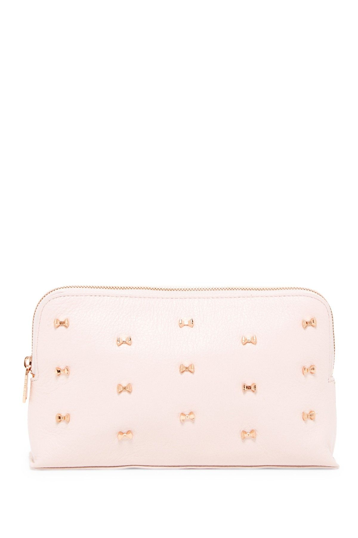 Pintoe Large Micro Bow Cosmetics Case by Ted Baker London on @nordstrom_rack